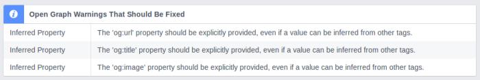 Configure your Website Teaser for Facebook Share